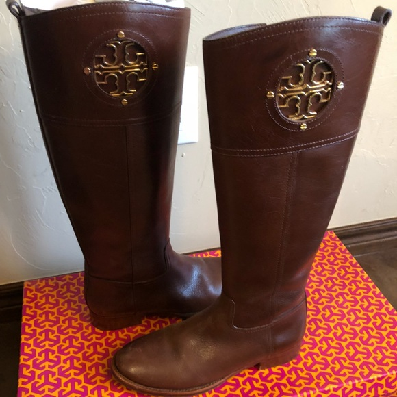 2e7fa1cd75e6 Tory Burch Kiernan 35mm riding boot